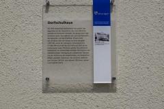 Tafel_Dorfschulhaus